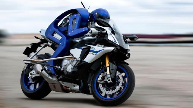 Motocycle robot