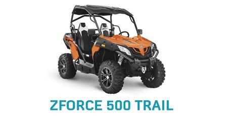 Prezentare CF Moto ZForce 500 Trail 2020