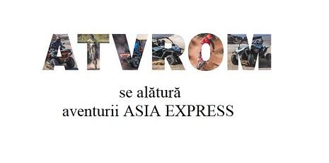 ATVRom ia parte la aventura Asia Express